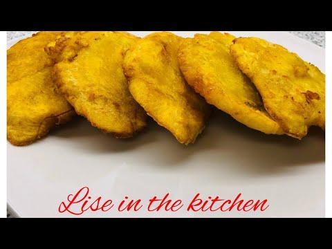 How to make Banann Peze (Haitian Fried Plantains) - YouTube
