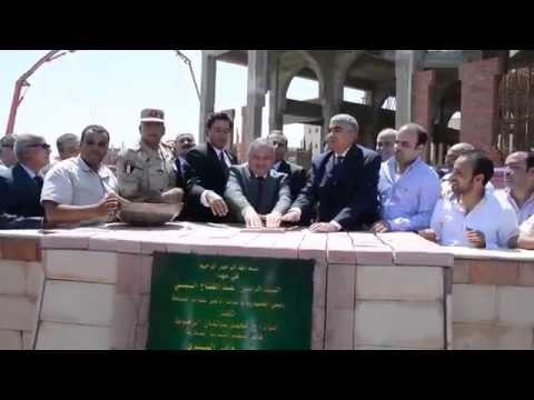 بالفيديو/ محافظ الاسكندرية وقائد المنطقة يضعان حجر الأساس لمشروع التطوير الحضري بغيط العنب