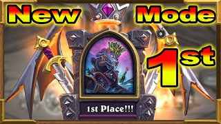 Hearthstone: Battlegrounds | I Got 1st Place First Try! The Rat King |This Is FUN Descent of Dragons