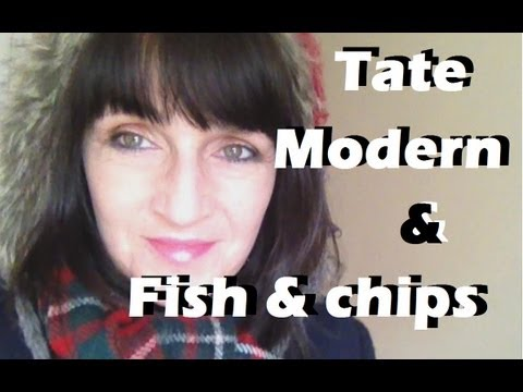 Tate Modern And Fish And Chips