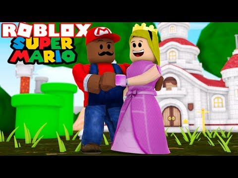BECOMING SUPER MARIO IN ROBLOX