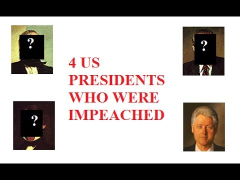 4 US Presidents who were Impeached. Best American Presidential History Videos