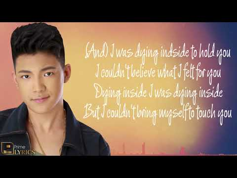 Darren Espanto   Dying Inside To Hold You All Of You OST With lyrics