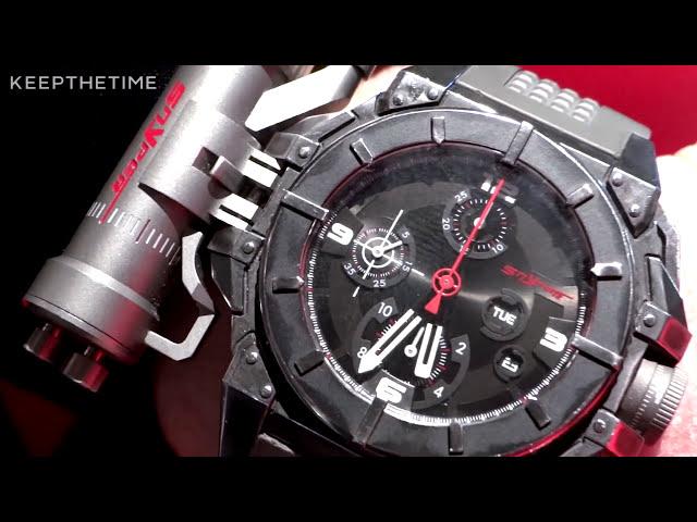 Snyper One Laser Watch Deepwater Horizon | Baselworld Interview