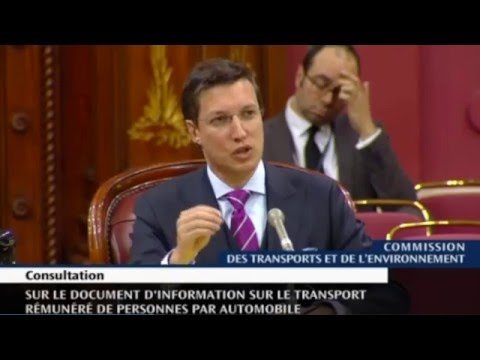Intervention de Guillaume Lavoie à la commission parlementaire sur l'industrie du taxi