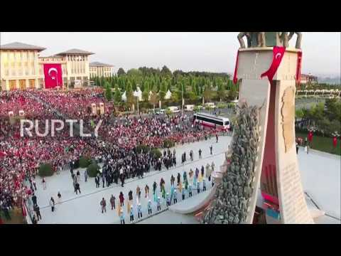 Turkey: Erdogan unveils monument to commemorate coup attempt victims