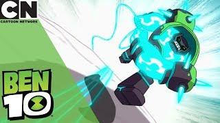 Ben 10 | Shock Rock Vs Giant Golem | Cartoon Network