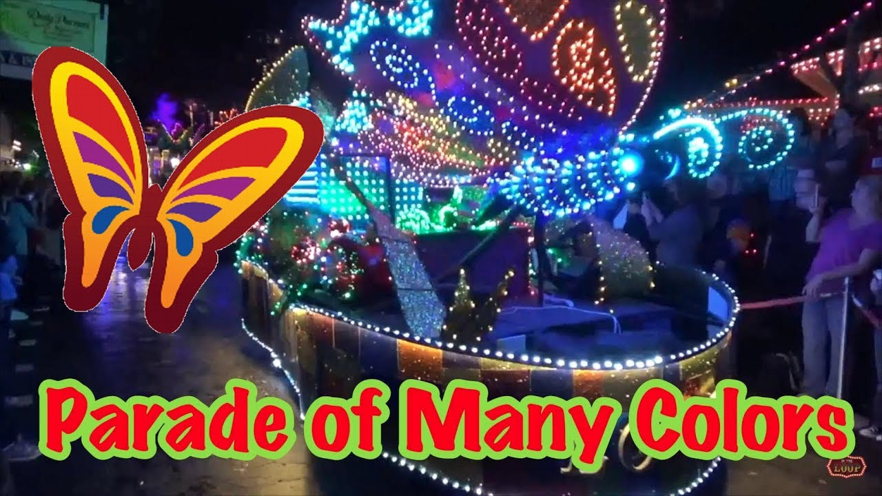 The Parade of Many Colors   Dollywood's Christmas Parade   YouTube