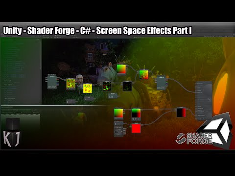Screen Space Effects in Unity using Shader Forge tutorial - Eco
