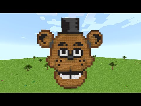 Minecraft Build Showcase-[FNAF 1] Freddy Fazbear - YouTube