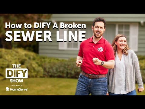 How to DIFY a Broken Sewer Line