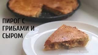 Рецепт божественного пирога с грибами и сыром. Как приготовить пирог с грибами и сыром?
