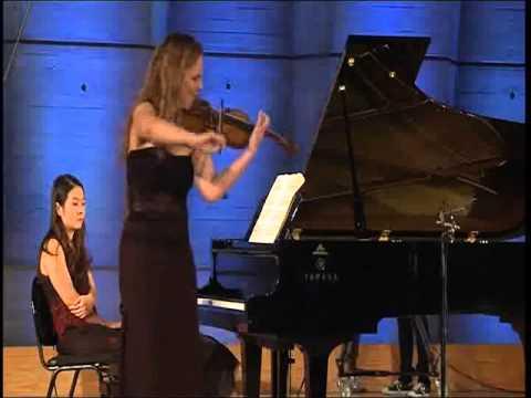 Stephanie Marie Degand e Christie Julien nella Tzigane di Maurice Ravel