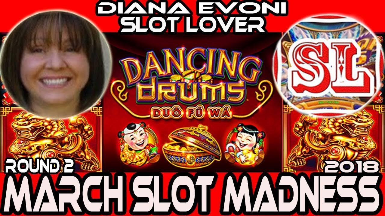 Round 2 Dancing Drums 🎰 Marchmadness2018 Slots🎪 Slot