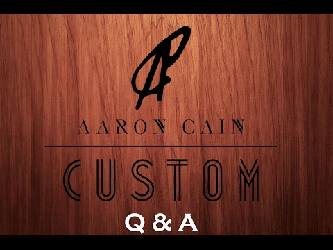 Aaron Cain Custom Deck Box Q & A