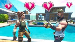 Drift Built House for his New Girlfriend in Fortnite