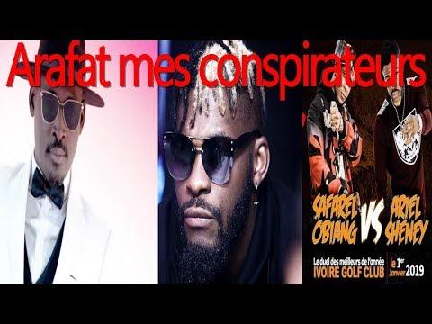 DJ ARAFAT - se prononce sur le concert de Ariel Sheney et safarel obiang