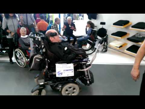eye gaze controlled wheelchair on Rehab 2017