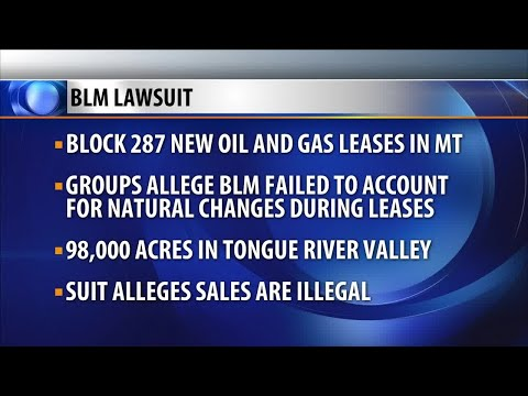 Environmental groups sue to block new oil and gas leases in Montana