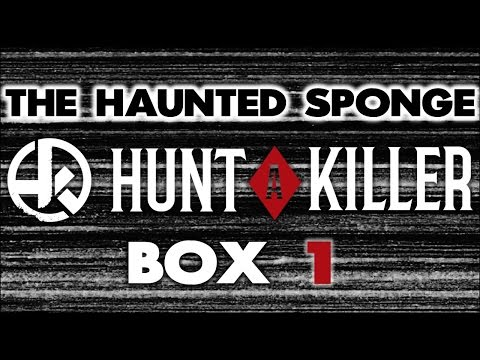 Hunt A Killer - BOX 1 - Unboxing and theories. SPOILERS!