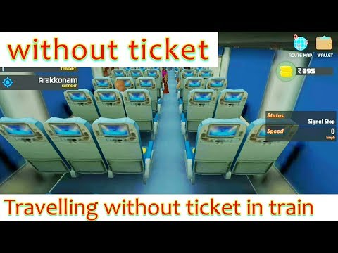 Travelling without ticket in indian train traveller - YouTube