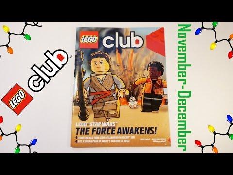 LEGO Club November-December Magazine Overview!