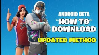 How to Download Fortnite Android (Updated Method). Fortnite Android Gameplay by IPF Gaming