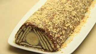 Kalter Hund Schokolade Rezept - Keks Torte Kuchen Ohne Backen