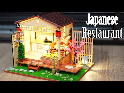 DIY Miniature Dollhouse Kit || Japanese Restaurant - Miniature Land