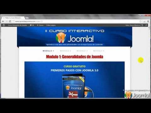 Joomla 3.0 - Instalación De Joomla 3.0 En Un Hosting