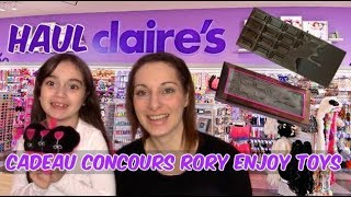 (Haul) - Claire's, Oeuf Hello Kitty + cadeau concours Rory Enjoy Toys