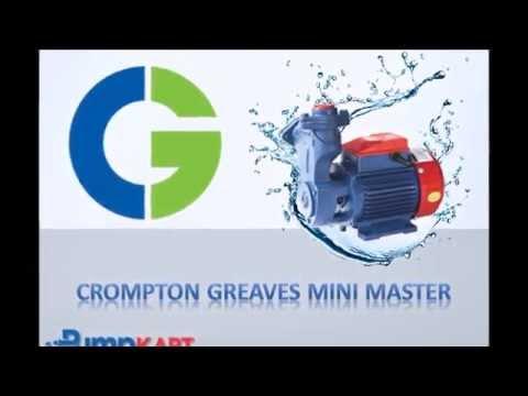 Crompton Greaves Mini Master Pumps Online, India - Pumpkart.com