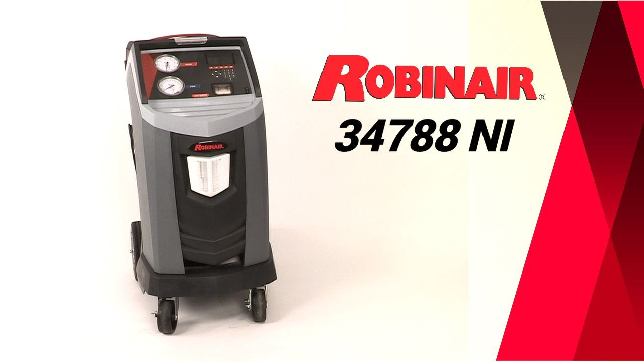 Robinair Ac Machine >> Robinair 34788 Ni Recovery Machine