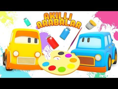 Çocuklar Için çizgi Film. Akıllı Arabalar Ile Resimleri Yapalım!