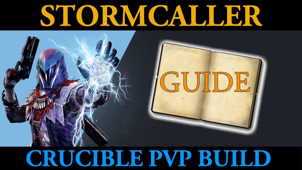 destiny how to get warlock stormcaller
