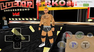 Top 5 RKOs!! (Wrestling Revolution 3D 2k16 mod)