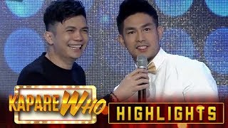 Ion answers questions from the immigration officer It&#39s Showtime KapareWho