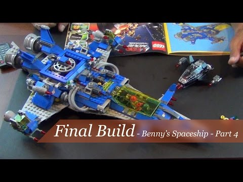 The Final Build! - The Lego Movie Benny's Spaceship - Set #70816