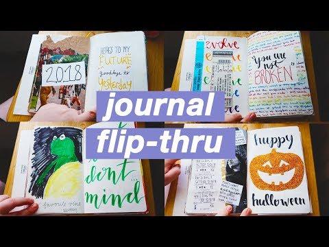 2018 Journal Flip Through!