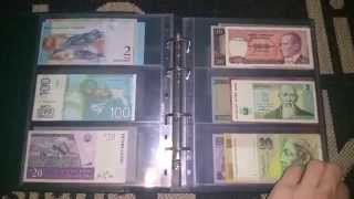 my banknotes collection 2015
