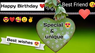 Special Birthday Wishes For Friends | Birthday Wishes For Best Friend | Best Birthday Wishes