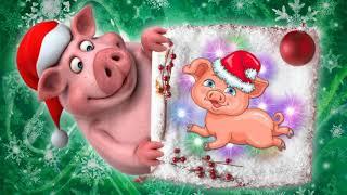К нам приходит год свиньи!
