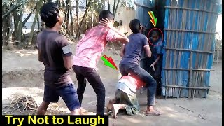New Funny Video l Try Not to Laugh l Best Funny Video by Funny Boy's Fun (Part-6)