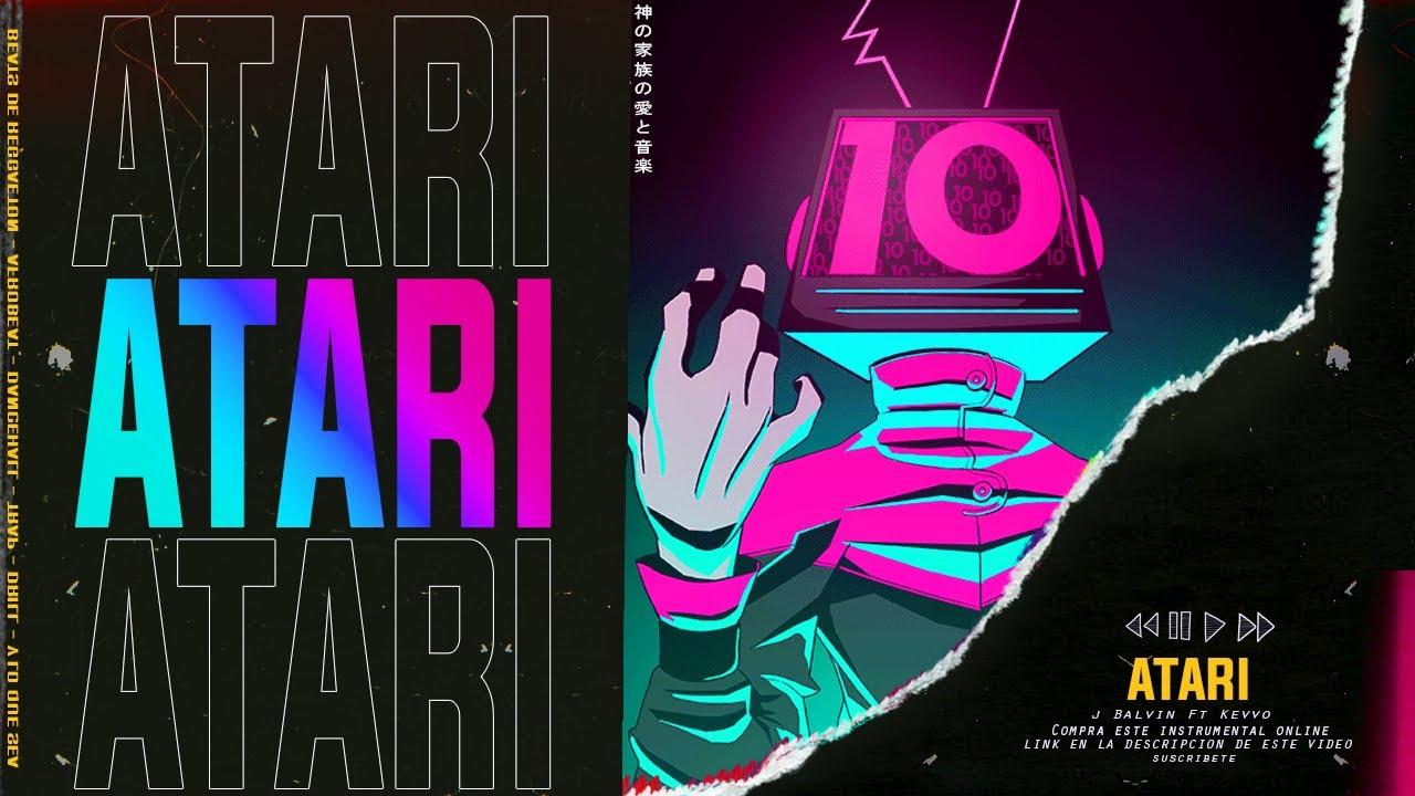 ATARI | Instrumental Reggaeton AFRO PERREO | J Balvin X KEVVO