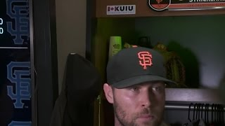 Giants Pitcher Hunter Strickland: 'It's Go Time'
