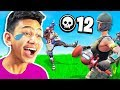 LAUGHING after every kill I get in Fortnite: Battle Royale
