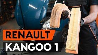 Substituição Filtro de Ar RENAULT KANGOO: manual técnico