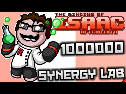 The Binding of Isaac: Afterbirth - Synergy Lab: ULTIMATE TEAR SIZE, ULTIMATE DAMAGE!