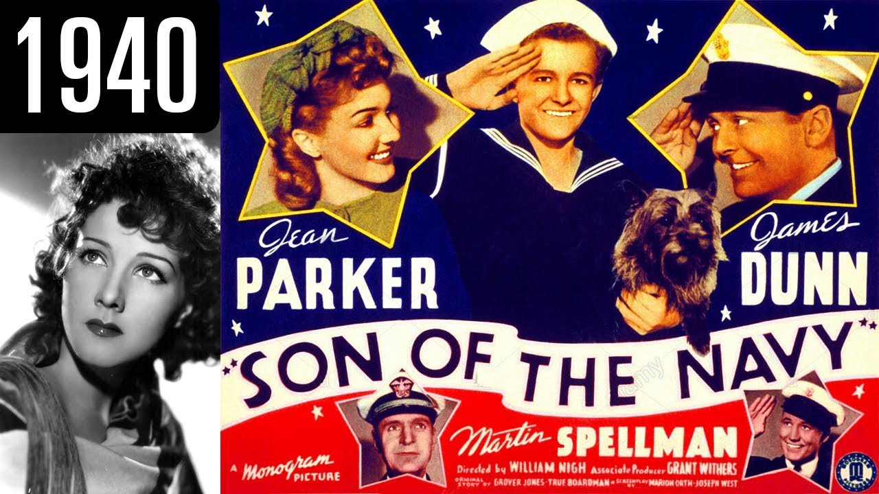 Classic Old Movie : Son of the Navy (1940) – (Full Film)