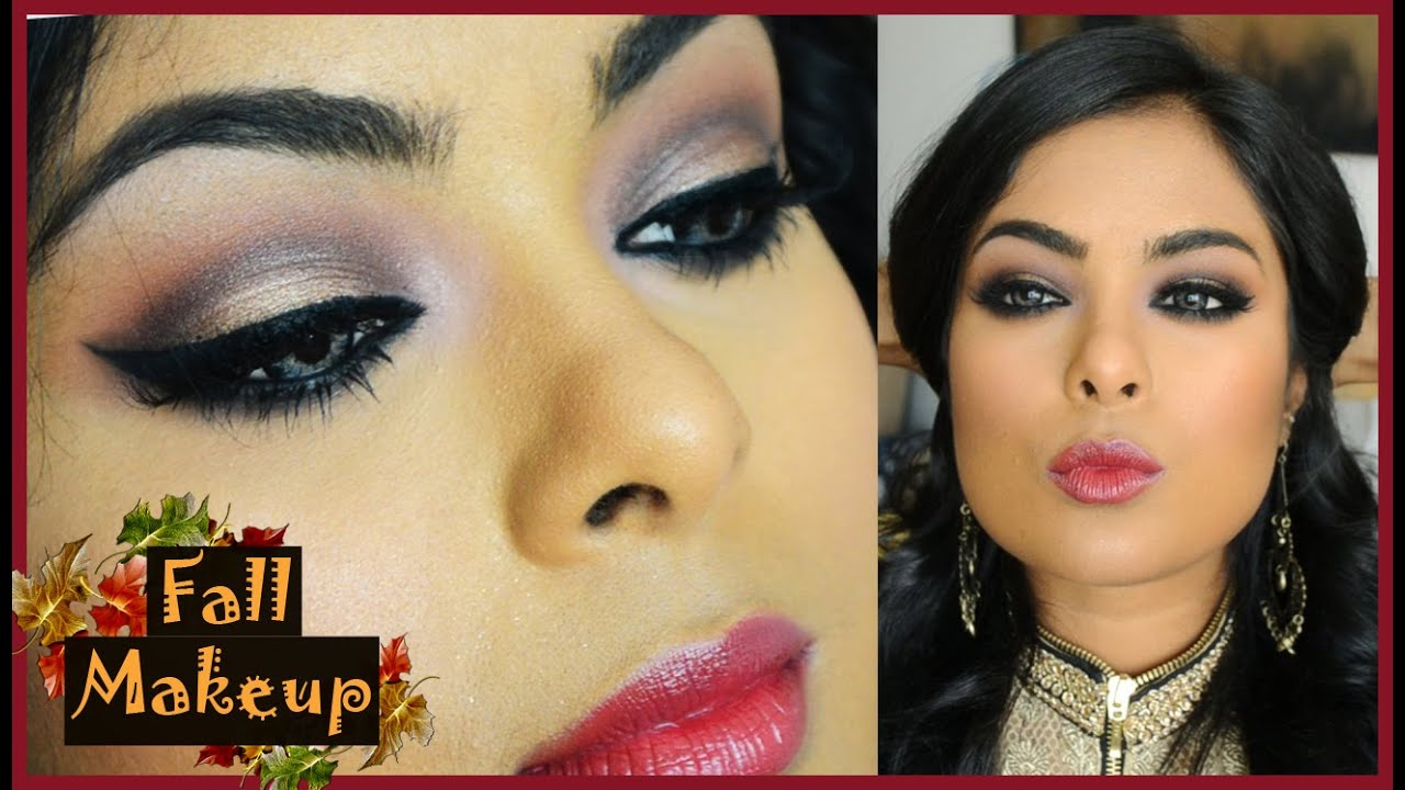 Wedding Reception Guest Makeup : Fall Festive Makeup - Indian Wedding Guest / Wedding ...